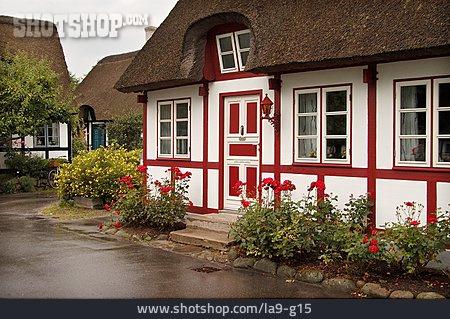 House, House, Timbered, Samsö