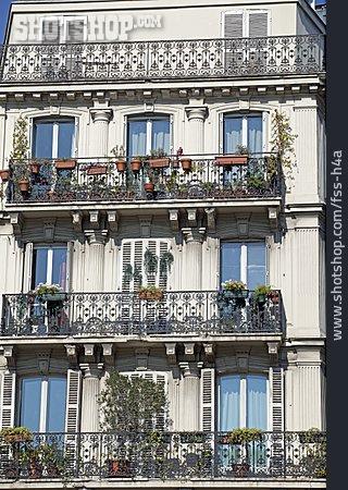 House, House, Balcony, Art Nouveau