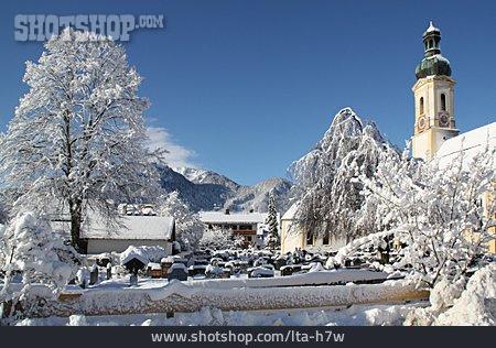 Village, Snowy, Brauneck