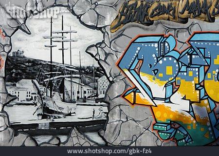Graffiti, Streetart