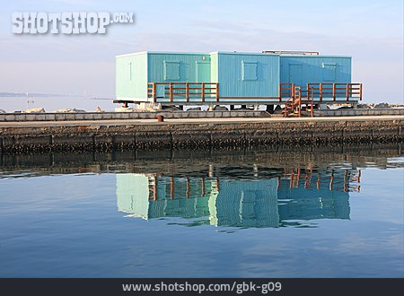 Wooden House, Cargo Container