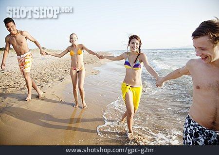 Teenager, Friendship, Summer, Friends