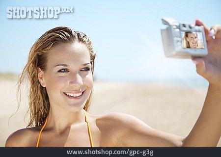 Photographer, Photograph, Self Portrait, Vacation Photo