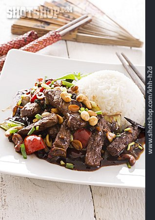Chinese Cuisine, Kung Pao Beef