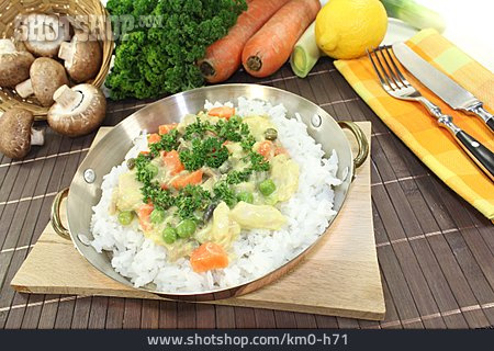 Rice, Fricassee