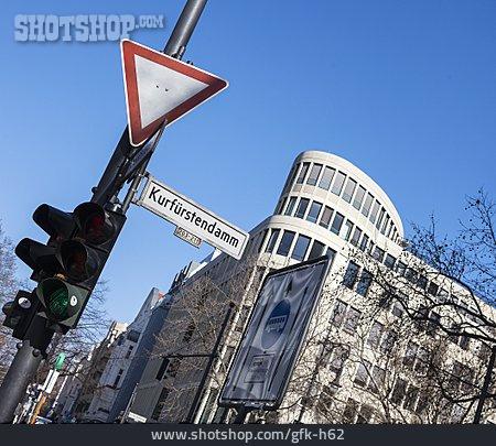Urban Life, Berlin, Stoplight