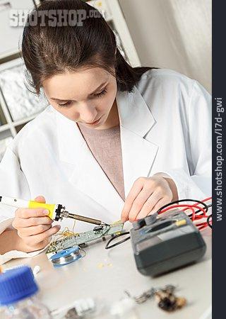Circuit Board, Repair, Computer Technology