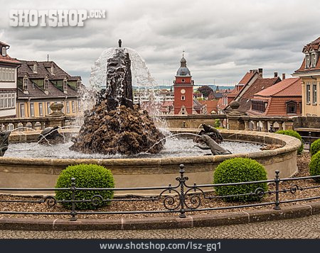 Fountain, Market Square, Gotha
