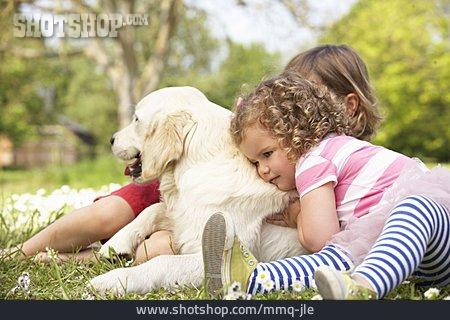 Dog, Children, Animal Love