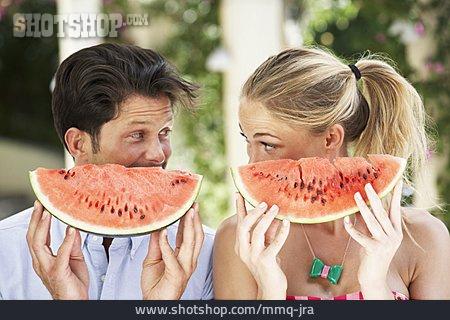 Summer, Watermelon, Melon Pieces