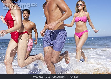Fun & Happiness, Friends, Beach Holiday, Summer Vacation