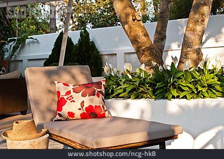 Bank, Garden Furniture, Lying Down, Lounge Chair