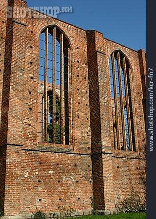 Old Ruin, Stralsund, John's Church