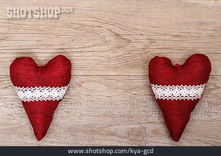 Heart, Wooden Board