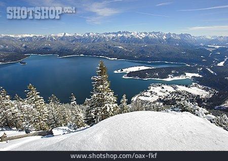 Lake, Walchensee, Lake