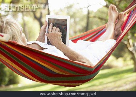 Senior, Reading, Electronic Book