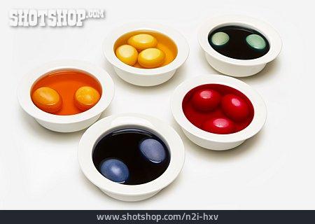 Easter, Easter Egg, Dyeing, Eatser Egg Color
