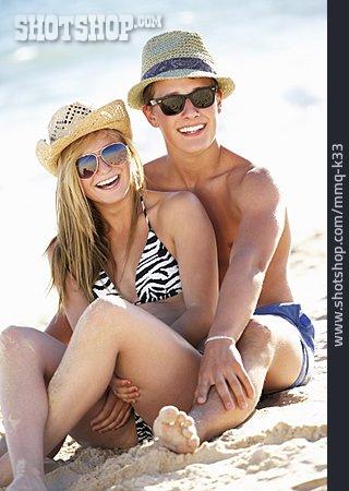 Couple, Summer, Vacation