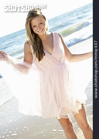 Young Woman, Summer, Vacation