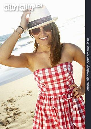 Young Woman, Woman, Summer, Vacation