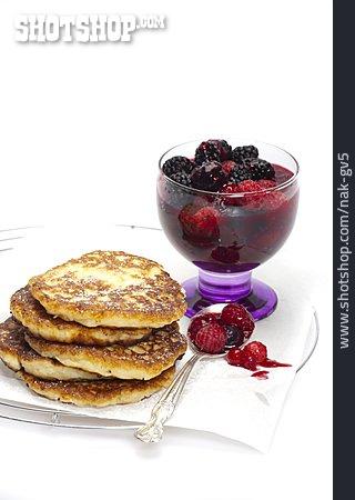 Forest Fruit, Potato Pancakes, Fruit Dessert