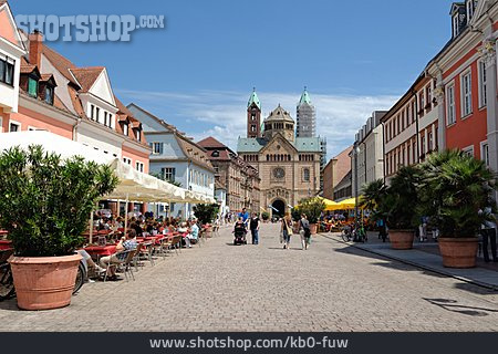 Urban Life, Speyer, Speyer Cathedral