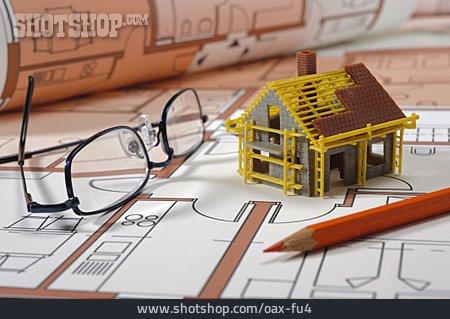 Blueprint, Building Construction, Blueprint