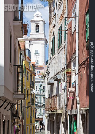 Old Town, Alley, Lisbon