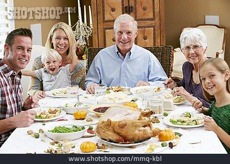 Dinner, Family Life, Thanksgiving