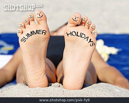 Holiday & Travel, Foot, Summer Holidays