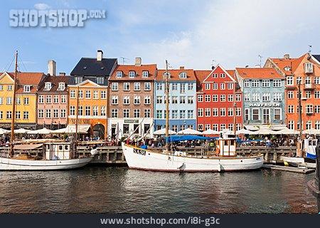 Copenhagen, Nyhavn, Port District