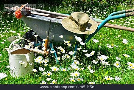 Gardening, Wheelbarrow, Garden Tool