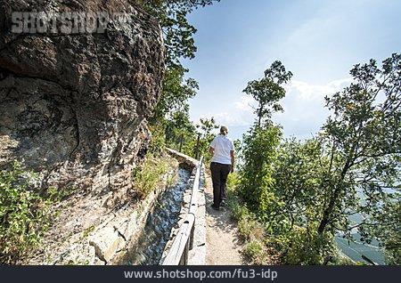 Hiking, Trail, Waal, Waalweg