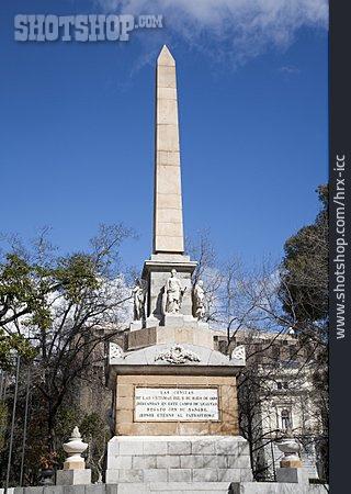 Memorial, Obelisk, Monumento A Los Caidos Por Espana