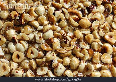 Candy, Nut Bar, Caramelized