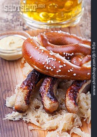 Sausage, Sauerkraut, German Cuisine