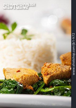 Asian Cuisine, Chicken Curry