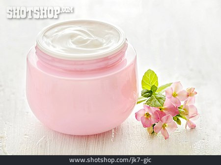 Cream Pot, Moisturizer Jar