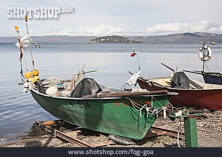 Fishing Boat, Lake Bolsena