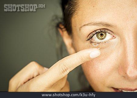 Glasses, Contact Lens