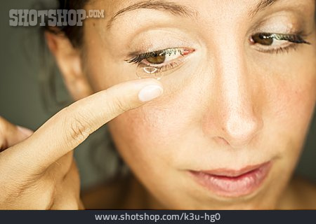 Sightedness, Contact Lens