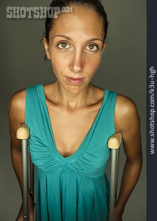 Disability, Crutch, Walker