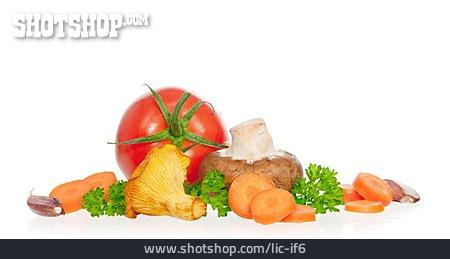 Mushroom, Ingredients