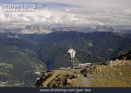 Mountain Range, European Alps, Dolomites, Geisler Acute