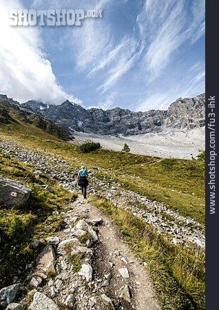 Mountain Range, Hiking, Ortler