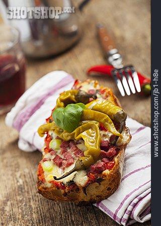 Baguette, Gratin, Snack, Pizza Baguette