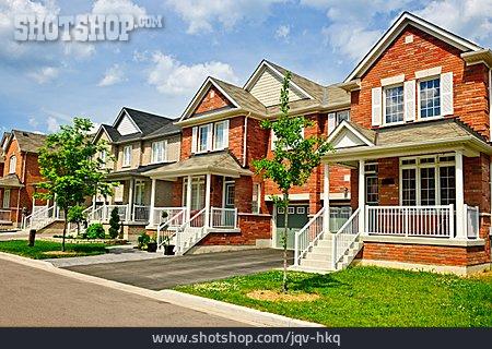 House, Row House, Neighborhood, Residential Area