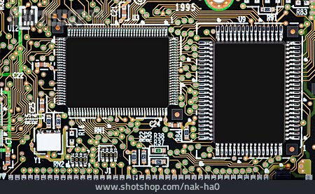 Pcb, Computer Chip