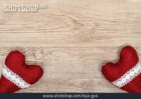 Copy Space, Heart, Textile Heart