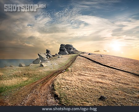 Footpath, Rocks, Dirt, Crimea